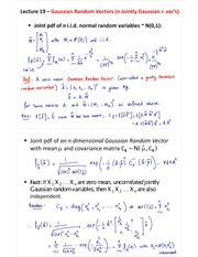 L19-Estimation of Random Vectors and Limit of Binomial Distribution