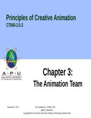 4. The Animation Team