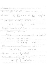 Quantum Mechanics Solutions Exam July 2014