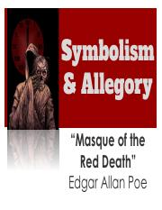 KG. 10th, STUDENTS, Short Stories, Symbolism and Allegory, _Masque of the Red Death_ Background Note