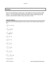 CalcII_ImproperIntegrals_Assignments