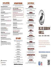 Blue Heron Menu-ToGo20161027