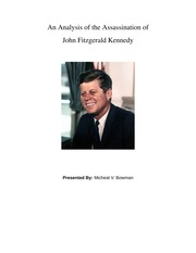 An Analysis of the Assassination of