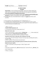 In the Womb Worksheet - Student Name John Smith Dated PSY-110 In the ...