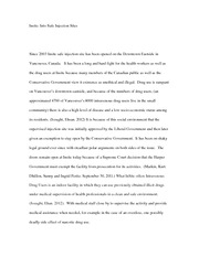 Psych 224 Culture - Insite Project Essay