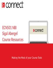 ECN501 NBI W18 McConnell Connect Student Registration - Options - Free Trial.pptx