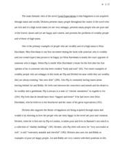 Great Expectations Thematic Essay