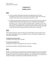 Intermediate Accounting II Assignment 2.docx