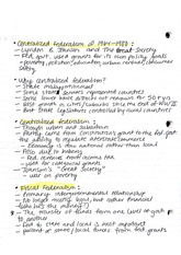 Notes, Types of Federalism