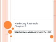 08 Marketing Research (BB)