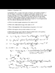 Exam 11 solutions