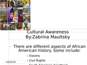 Cultural Awareness Assignment_maultsby_zabrina