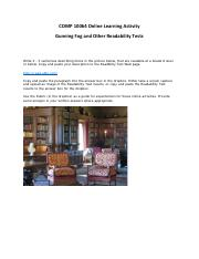 COMP-10064-Online-Learning-Activity-Readability
