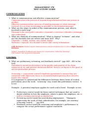 TEST 4 STUDY GUIDE (4) Bb