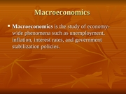 Meeting _13 - Macroeconomics and Unemployment