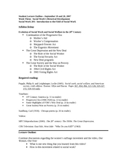 student lecture Outline3 2007