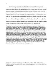 Oral history essay