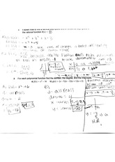 worksheet on polynomial