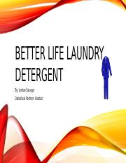 Better Life Laundry Detergent.pptx