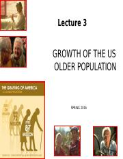 Lecture 3_C2g_Growth of Older Adults