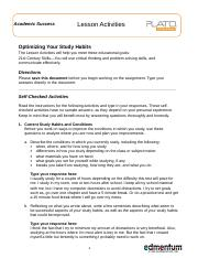 AS_L1_Optimizing Your Study Habits_LA.doc