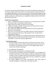 Equitable remedies notes.docx