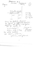 Homework F Part-II Solutions on Applied Differential Equations