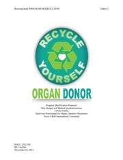 Proposal Essay on Organ Donation