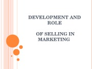 MRK+400+-+Chp.+1+-+Development+and+Role+of+Selling+in+Marketing (1)
