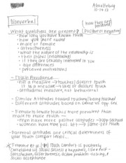 nonverbal communication 10_14 to 10_16 notes