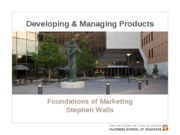 ch 11 MKTG-Developing and Managing Products