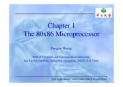 Chapter 1 The 80x86 microprocessor