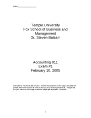 2005 Spring Accounting_011_exam_1___Spring_2005