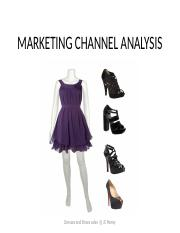 MARKETING CHANNEL ANALYSIS