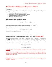 QBA121S17 Lecture 12 Solution