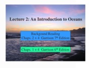 2. Intro to the Oceans