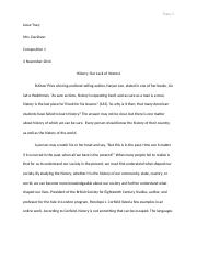 Argumentative Essay Final Draft
