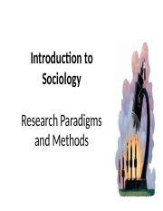 2 Social Research Methods