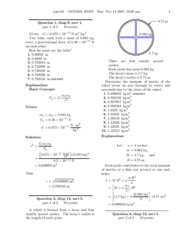 Physics Test3 Solutions