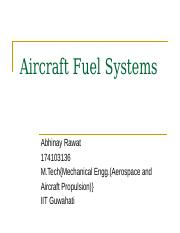 aircraft fuel system by~abhinay rawat.pptx