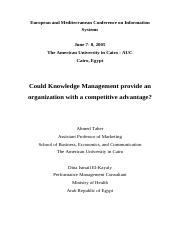 Knowledge Management  Transfer.pdf