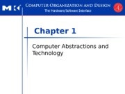 Chapter 1 Computer Abstractions and Technology.ppt