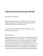M4-Individual and group therapy Methods.docx