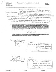 MSE 3.012 Quiz 2 Solutions