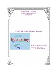 Marketing - Email Software