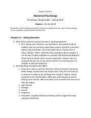 Abnormal Psychology Study Guide.docx