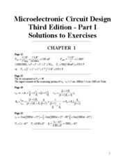 Exercise Solutions Ch1-Ch5