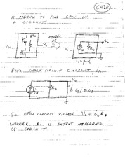 ME 491 Short Circuit Current Notes