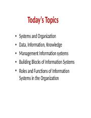 MGT215 - 2 - Key Elements of Information System.pptx