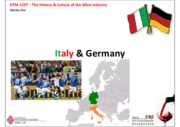 Lecture 3.1 - Italy & Germany